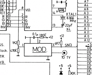 Here is the offending RF modulator